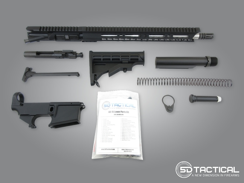 How-To Guide for Building an AR-15 – 5D Tactical