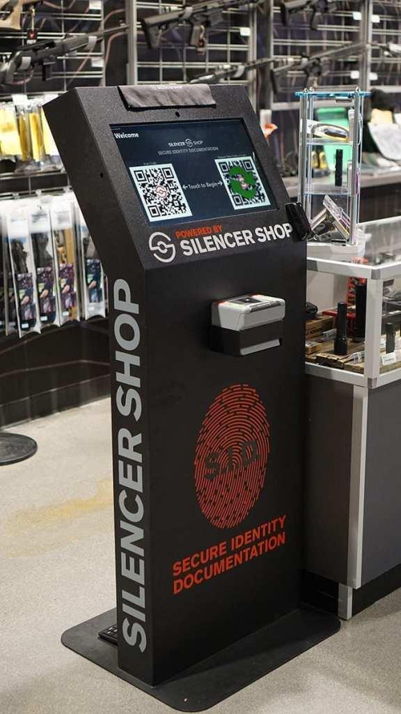 silencer shop kiosk SID