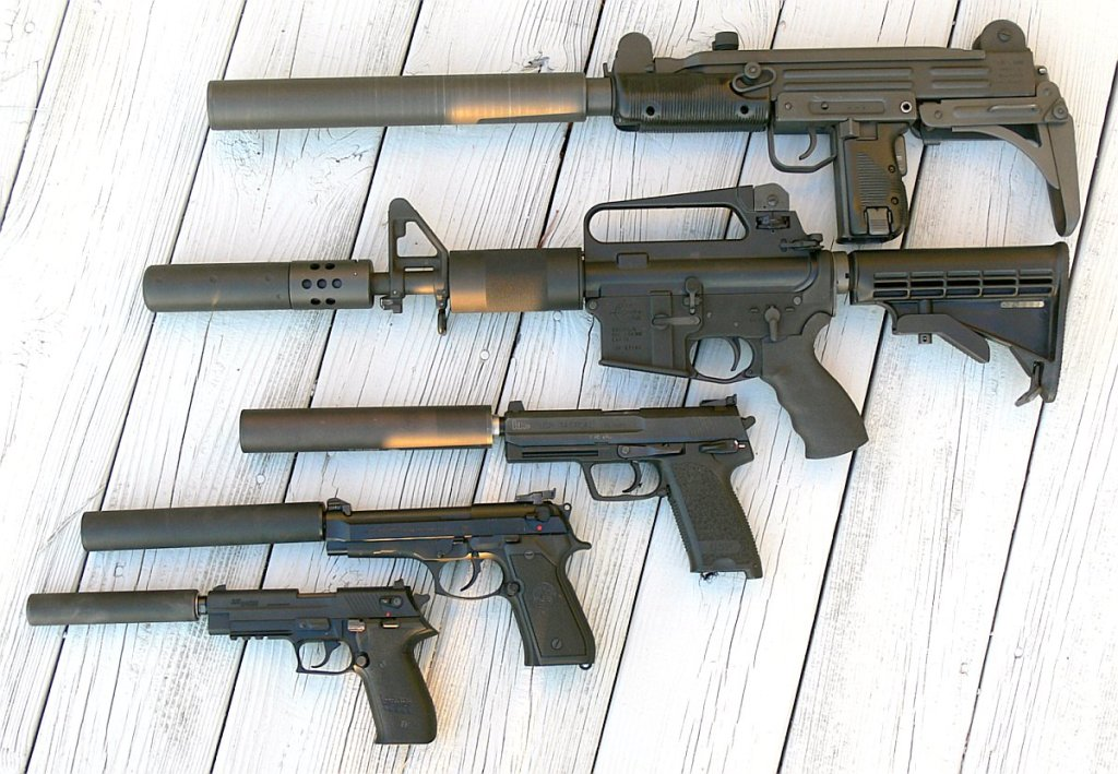variety of silencers